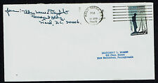 Louis E. Denfeld (d. 1972) signed autograph Envelope Chief of Naval Operations