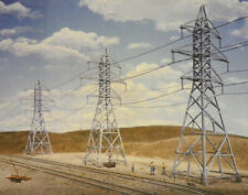 Walthers Cornerstone HO Scale Building/Structure Kit Power Transmission Towers