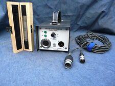 AKG C60 microphone avec étui, Câble, neuf et Ultra Low-Noise Power Supply Unit.