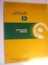 John Deere 1850 1860 E3 Operator'S Manual