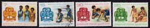 /PAPUA NEW GUINEA 1977 Girl Guides 4v set USED/MNH @S1351