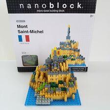 Nanoblock Mont Saint-Michel France Miniature Building Block NBH-012 390+ Piece