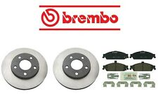 For Chevrolet Malibu 97-03 V6 3.1L Brembo Front Brake Kit w/ Rotors & Pads