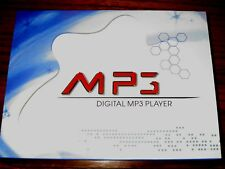 Vintage Silver digital MP3 player Complete boxed set  Collectible Retro , Mint