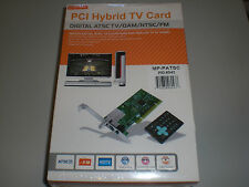 MonoPrice PCI Hybrid TV Card - Digital ATSC TV / QAM / NTSC / FM - HD 1080i DVR
