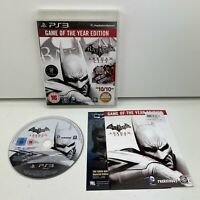 Batman Arkham City (PS3) Sony Playstation 3 Complete With Manual