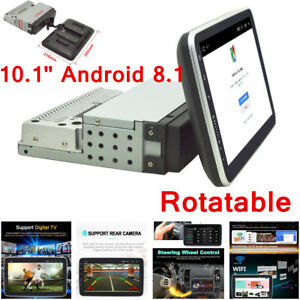 """10"""" Android 8.1 In Dash Stereo Car MP5 Player GPS Navi Touch Screen Radio 1Din"""