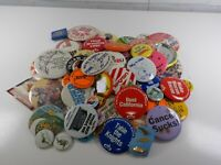 Lot of Vintage Pin Pinback Button and Lapel and Jacket Pins