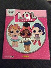 L.O.L Surprise Sticker Album Panini Part Complete 151 Stickers