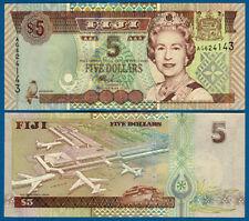 FIJI  5 Dollars (2002)  UNC  P.105