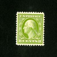 US Stamps # 337 XF OG NH Fresh