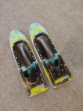 Cut N Jump Trick Water Skis- Super Rare- Wood 00004000  Trick Skis- Barefoot Training