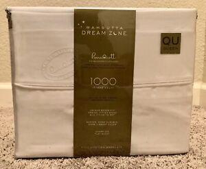 Wamsutta Dream Zone 1000-Thread Count PimaCott  Queen Sheet Set Solid White
