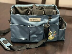 FifthStart Wearable Cleaning Caddy with Handle  Organizer for Cleaning Supplies