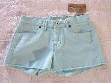 Madewell Womens Shorts Size 24 Seaside Blue Denim Cut Off NWT
