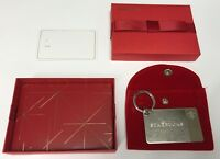 UNUSED Starbucks Sterling Silver Key Chain Gift Card w/$50 Pre-loaded BRAND NEW