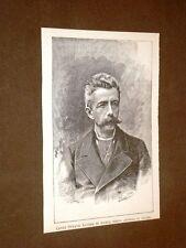 Conte Ottavio Lovera di Maria Torino, 2 luglio 1833 – Torino, 5 febbraio 1900