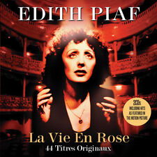 Edith Piaf  LA VIE EN ROSE 44 Original Recordings BEST OF COLLECTION New 2 CD