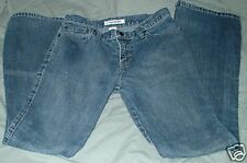 WOMENS JEANS SIZE 2  ABERCROMBIE & FITCH   BLUE FLARE LEG LIGHT WASH