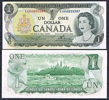 CANADA 1 DÓLAR AÑO 1973 Signs LAWSON/BOUEY Pick # 85a  SC  UNC