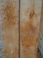 "2-1""  Figured Cherry Wood Craft  Resaw Blank Turning Stock Furniture Craft Plank"