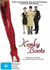 Kinky Boots - JOEL EDGERTON - DVD  - NEW & SEALED