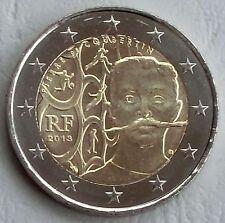 2 Euro Frankreich 2013 Pierre de Coubertin unz.