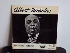 ALBERT NICHOLAS - New Orleans Clarinet Vol. 5