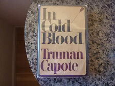 In Cold Blood by Truman Capote. First edition, first issue in dust jacket.
