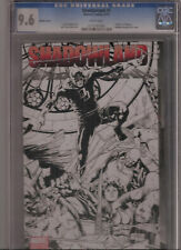 SHADOWLAND #1 CGC 9.6 WRAPAROUND SKETCH VARIANT COVER