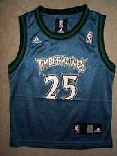 ADIDAS Minnesota Timberwolves AL JEFFERSON nba Jersey YOUTH KIDS BOYS (5-6)