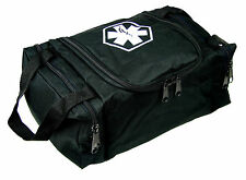 "DIXIE EMS FIRST RESPONDER EMT JUMP TRAUMA BAG - TACTICAL BLACK 10.5""X 5"" X 8"""