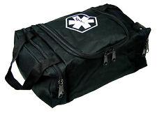 "DIXIE EMS FIRST RESPONDER EMT JUMP TRAUMA BAG - TACTICAL BLACK 10.5""X 5"" X 8"""