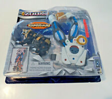 ZOIDS Zi-Comm Gauntlet with Shield Liger Gold Figure 2003 - NEW-Sealed