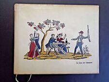 Le Livre des Chansons/Davenson Club Des Libraires de France '58 INV2521