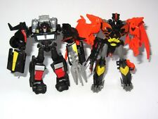 Transformers Prime Autobot Trailcutter & Decepticon Predaking   Toy Figure Set