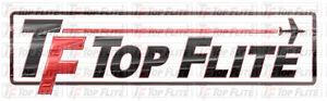 Top Flite Logo Graphics Decals RC Plane Airplane