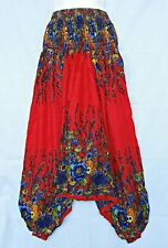 New Hippy Alibaba Boho Baggy Gypsy Harem Pants Yoga Trouser Floral Unique PH6Q