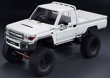 RC 1/10 Truck HARD Body Shell TOYOTA LAND CRUISER LC70 PICK UP AXIAL + SNORKEL