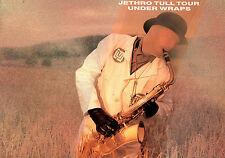 JETHRO TULL 1984 UNDER WRAPS TOUR CONCERT PROGRAM BOOK / NEAR MINT 2 MINT
