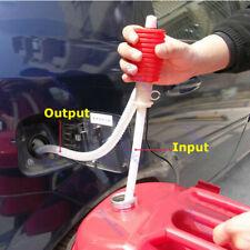 Car Manual Hand Gas Oil Liquid Syphon Portable Transfer Pump Siphon Pump Hose