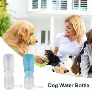 Tragbare Haustier Wasserflasche Katze Hund Trinkbecher  Welpe Reisen Trinknapf