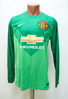 MANCHESTER UNITED 2014/2015 GOALKEEPER FOOTBALL SHIRT JERSEY NIKE SIZE S ADULT