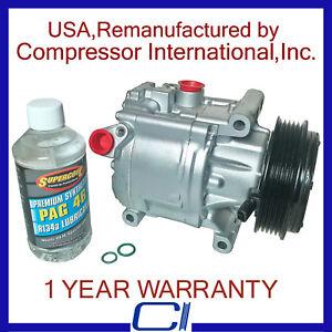 2012-2014 FIAT 500 1.4L OEM Reman A/C Compressor