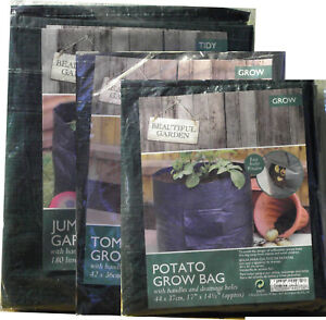 POTATOES,VEGETABLES TOMATO,GROW BAGS,GARDEN WASTE ,PLANTING LARGE BAG TIDY NEW