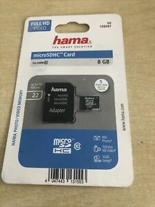 Hama Micro SDHC 8gb Class 10 mit Adapter