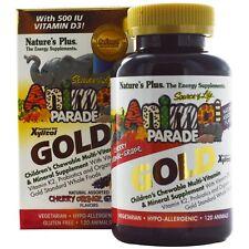 Nature's Plus AP Gold Assorted Chewables 120 Quantity