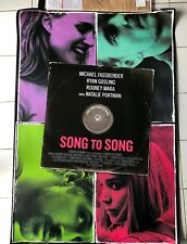 SONG TO SONG ORIGINAL DS 2S 1sh POSTER Terrence Malick Ryan Gosling Rooney Mara