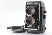 [ Exc+++++]  Mamiya C330 Pro S TLR Film Camera 105mm f3.5 DS Blue dot Japan 422