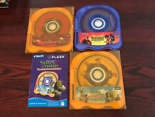 VTech V.Flash Games - Lot of 3  - Cars / Incredibles / Shrek